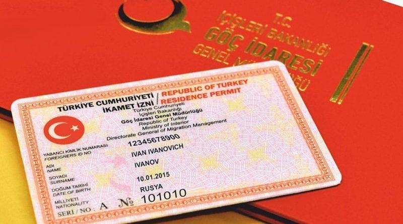 Verblijfsvergunning in Turkije